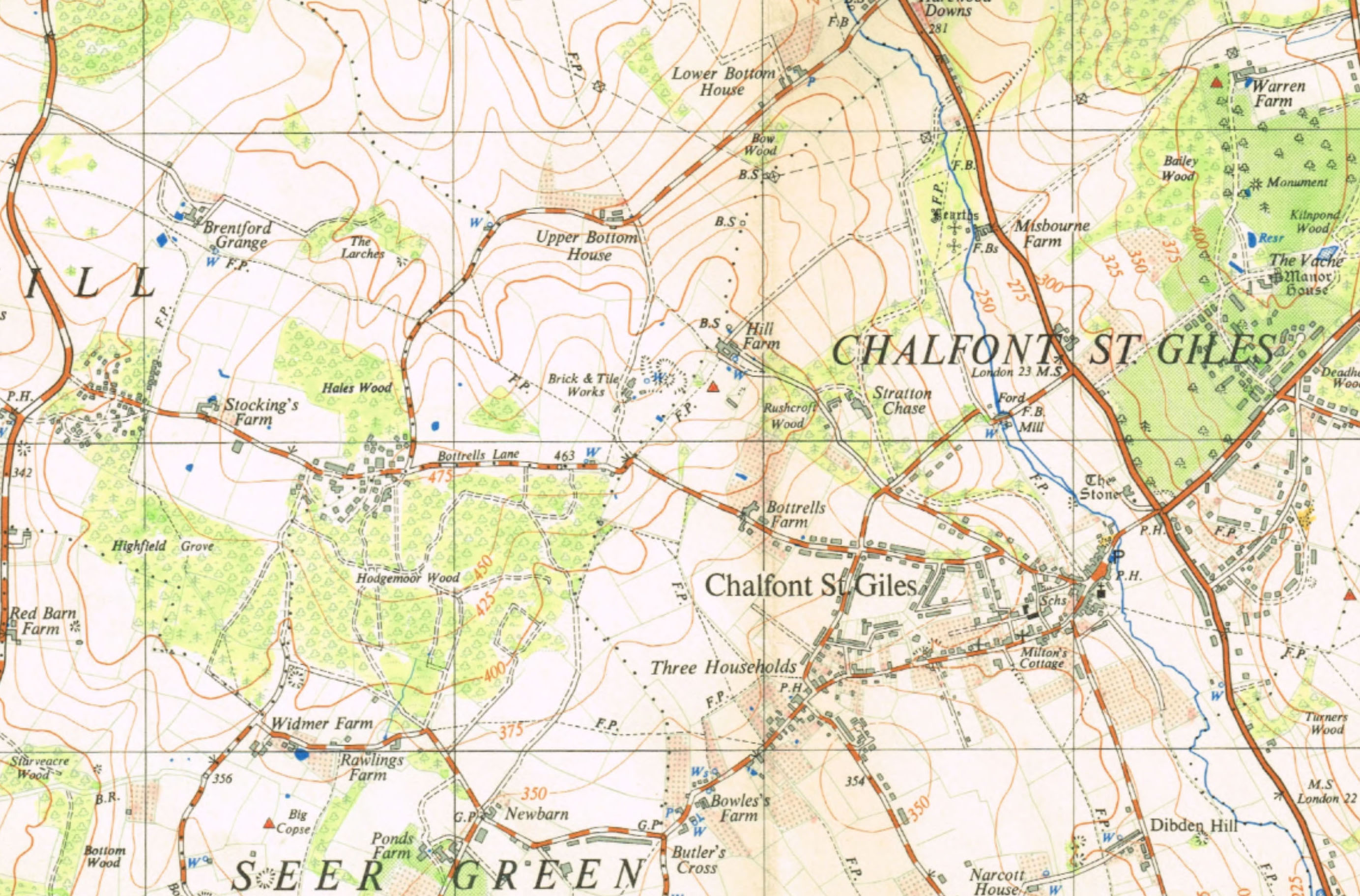 1949 map of CSG.